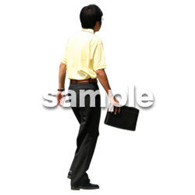 人物切抜き素材 夏服・フィットネス編 J_225