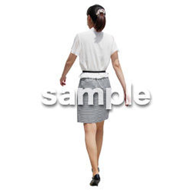 人物切抜き素材 ベーシックファッション編 P_175
