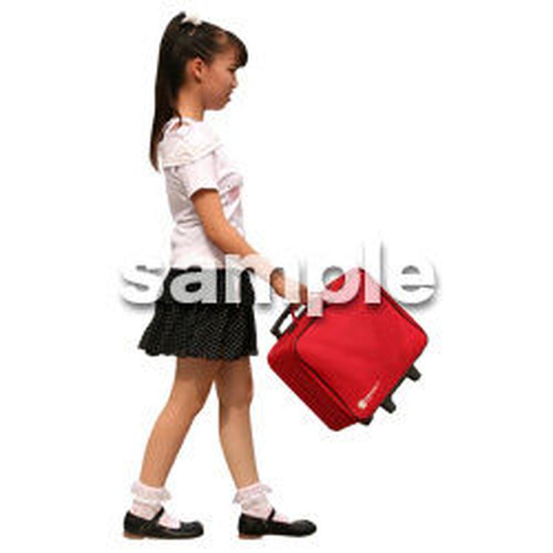人物切抜き素材 夏服・フィットネス編 J_274