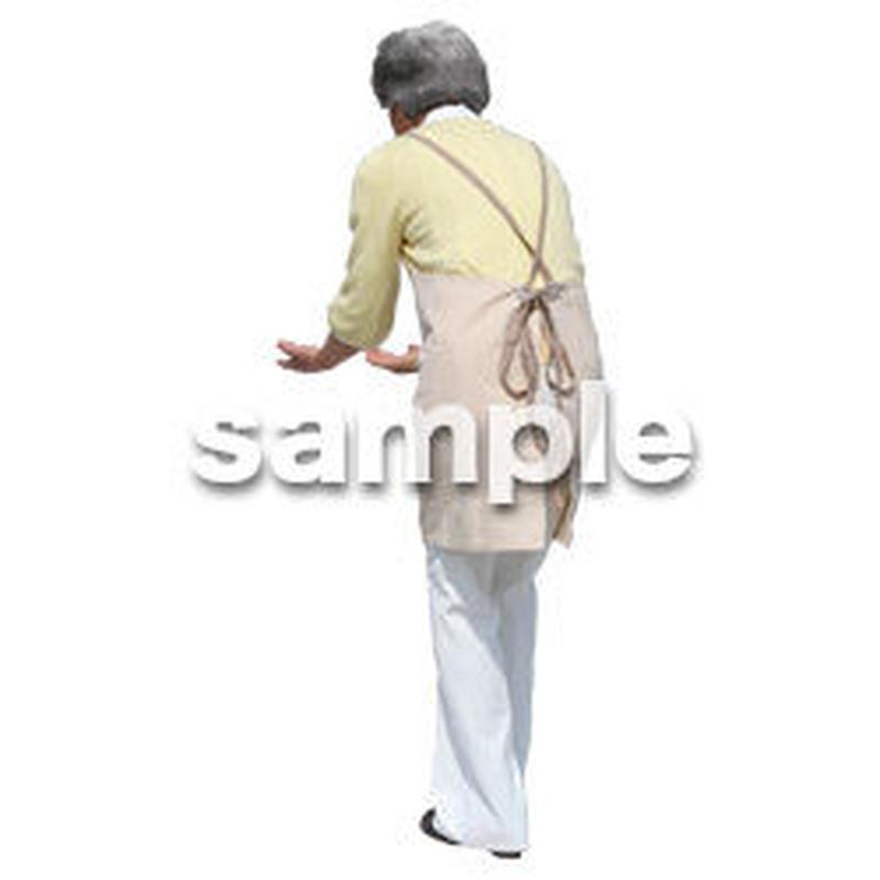 人物切抜き素材 シニアライフ編 R_190