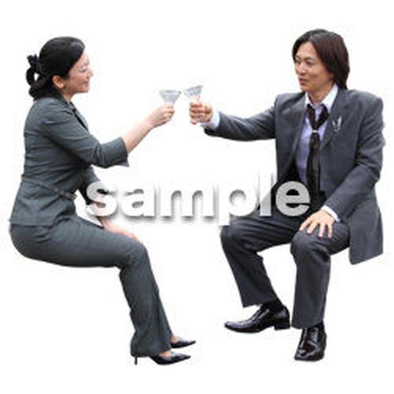 人物切抜き素材 アーバン・ショッピング編 M_339