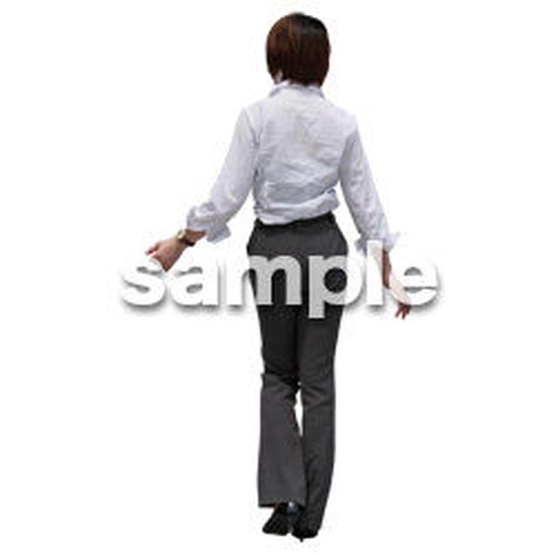 人物切抜き素材 ベーシックファッション編 P_145