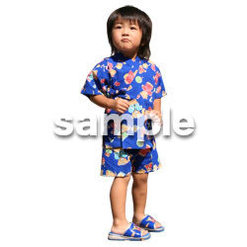 人物切抜き素材 夏服・フィットネス編 J_058