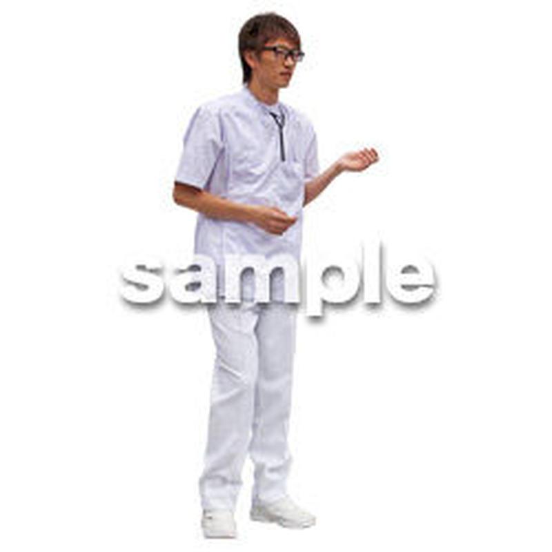 人物切抜き素材 シニア介護編 S_326