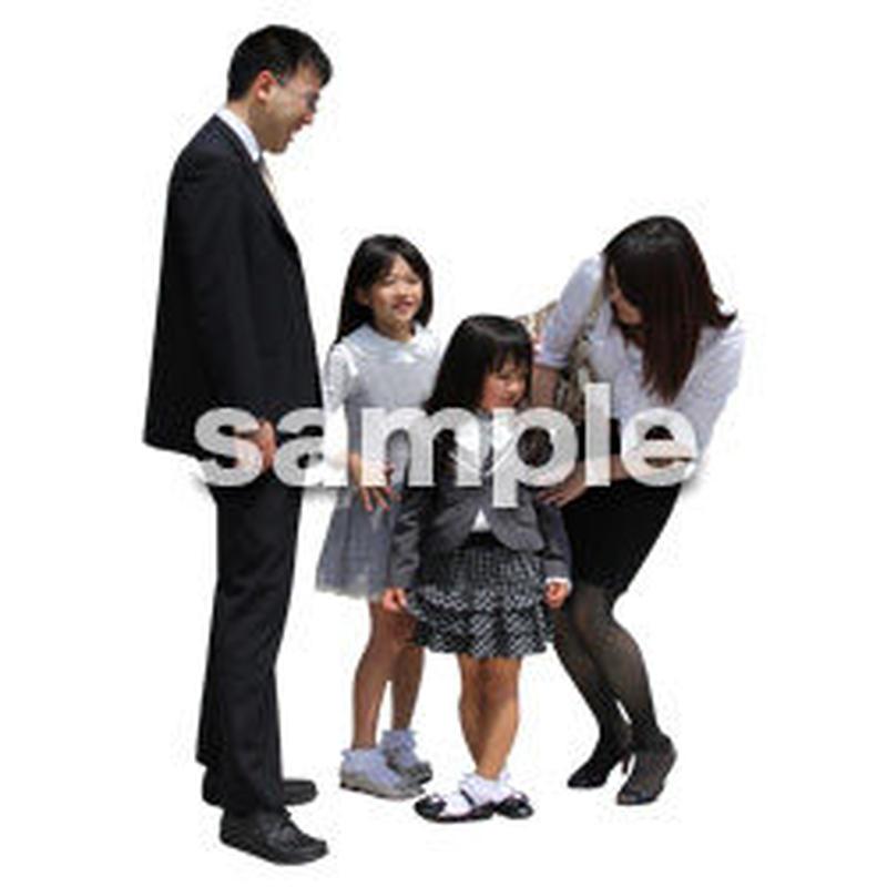 人物切抜き素材 アーバン・ショッピング編 M_065