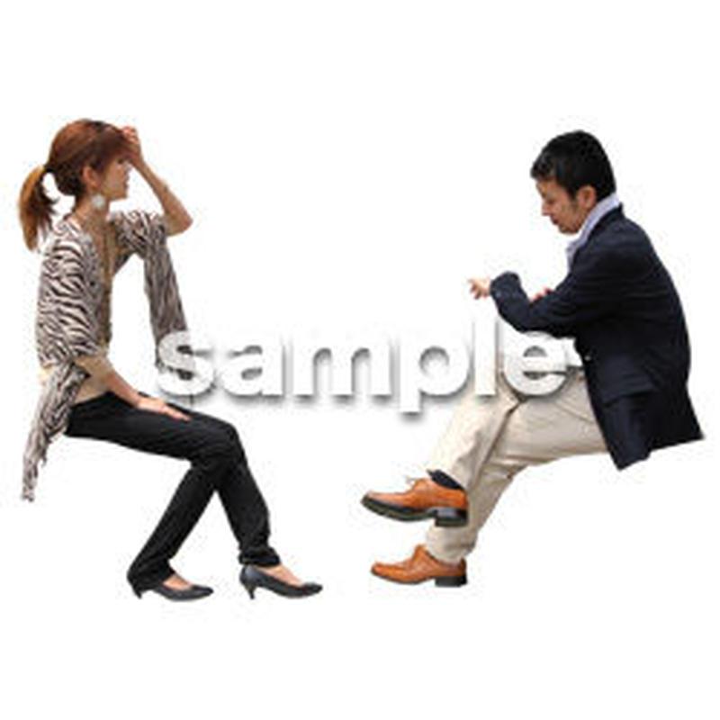 人物切抜き素材 アーバン・ショッピング編 M_352