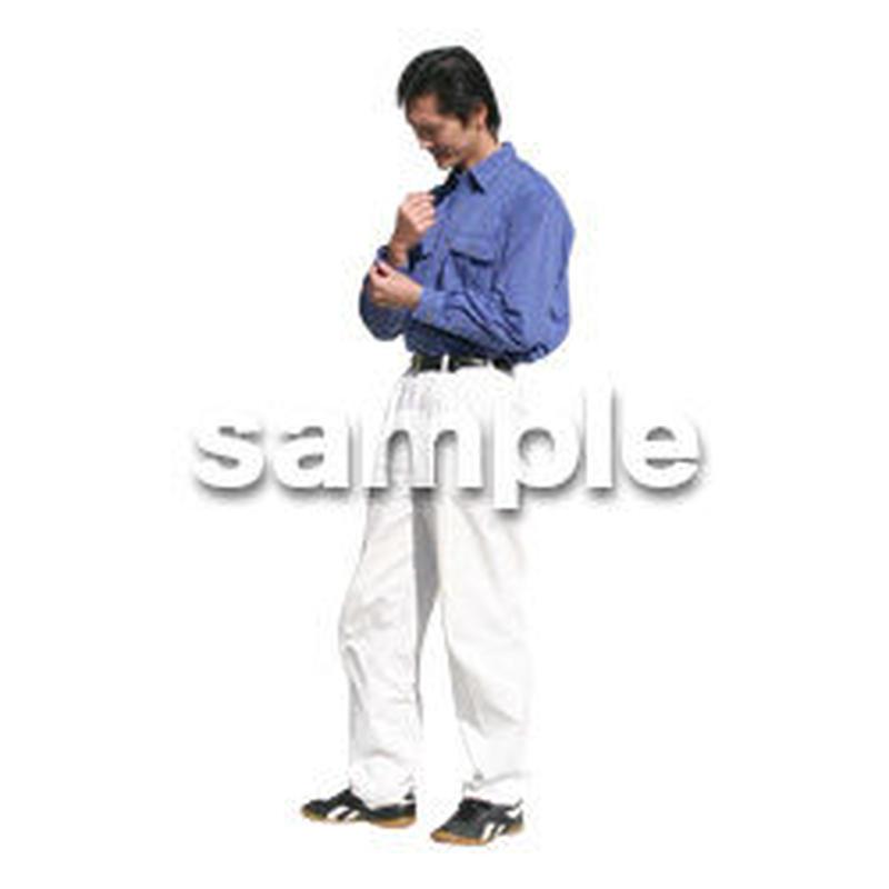 人物切抜き素材 カジュアル・ショッピング編 E_202