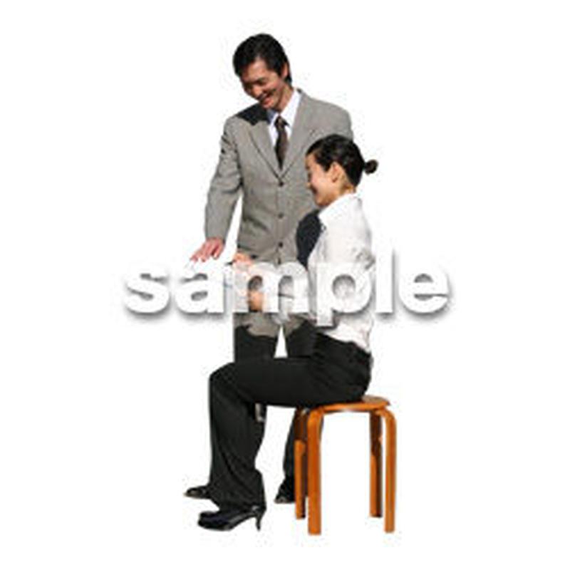 人物切抜き素材 オフィス・フォーマル編 G_050