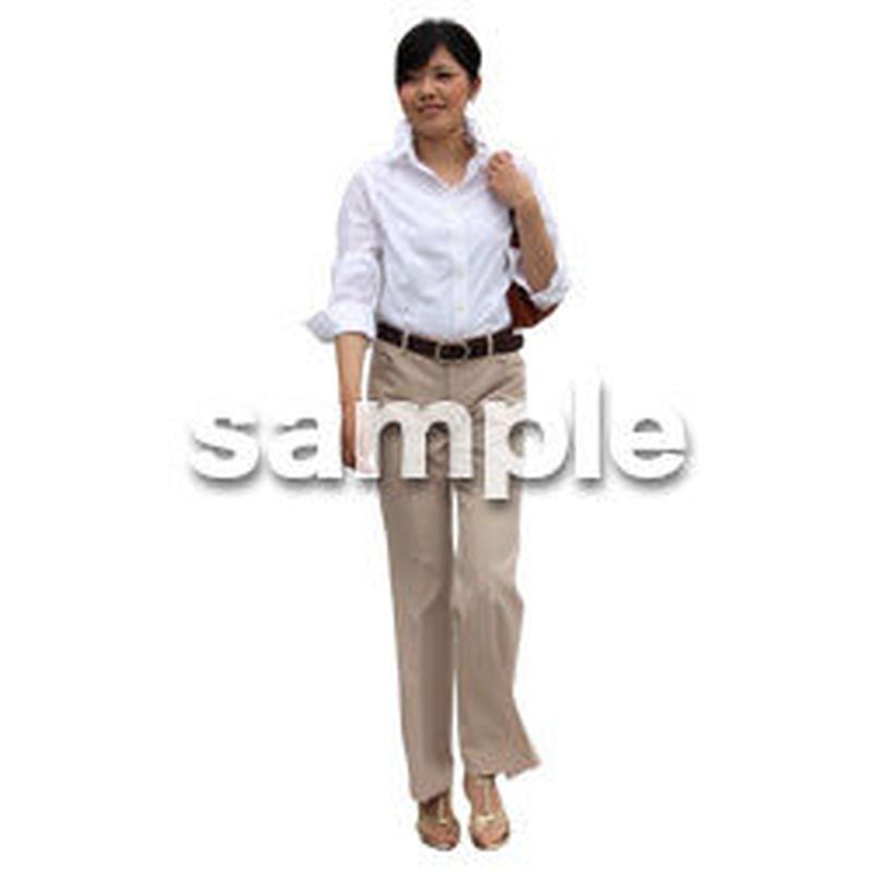 人物切抜き素材 アーバン・ショッピング編 M_216
