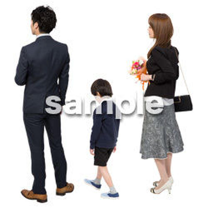 Cutout People ファミリー GG_014