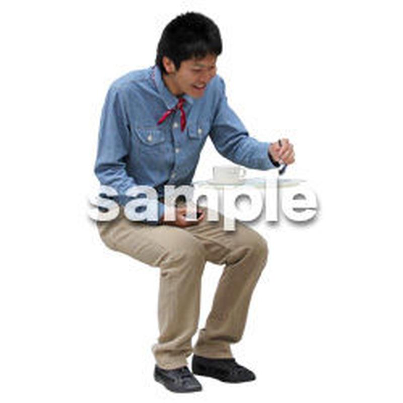 人物切抜き素材 レジャー・ショッピング編 L_474