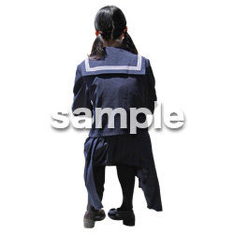 人物切抜き素材 キッズ・スクール編 O_410