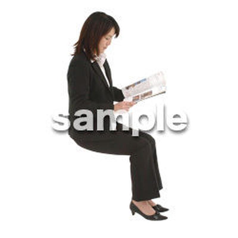 人物切抜き素材 オフィス・フォーマル編 G_186