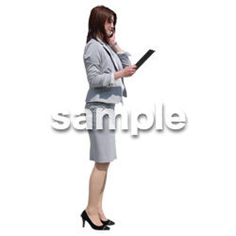 Cutout People ビジネス-日本人 EE_413