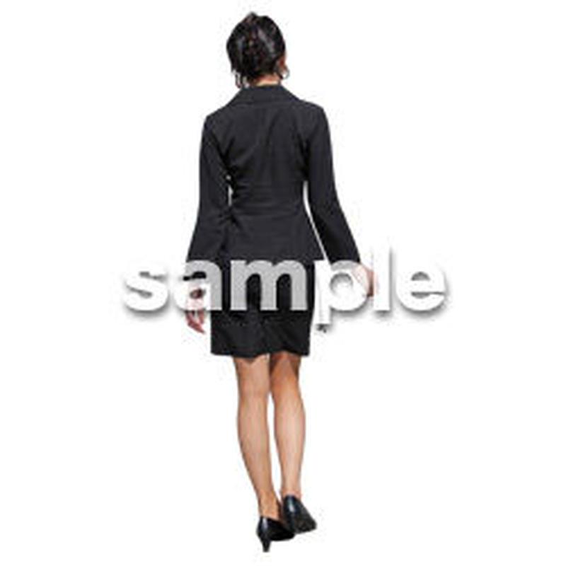 人物切抜き素材 ベーシックファッション編 P_280