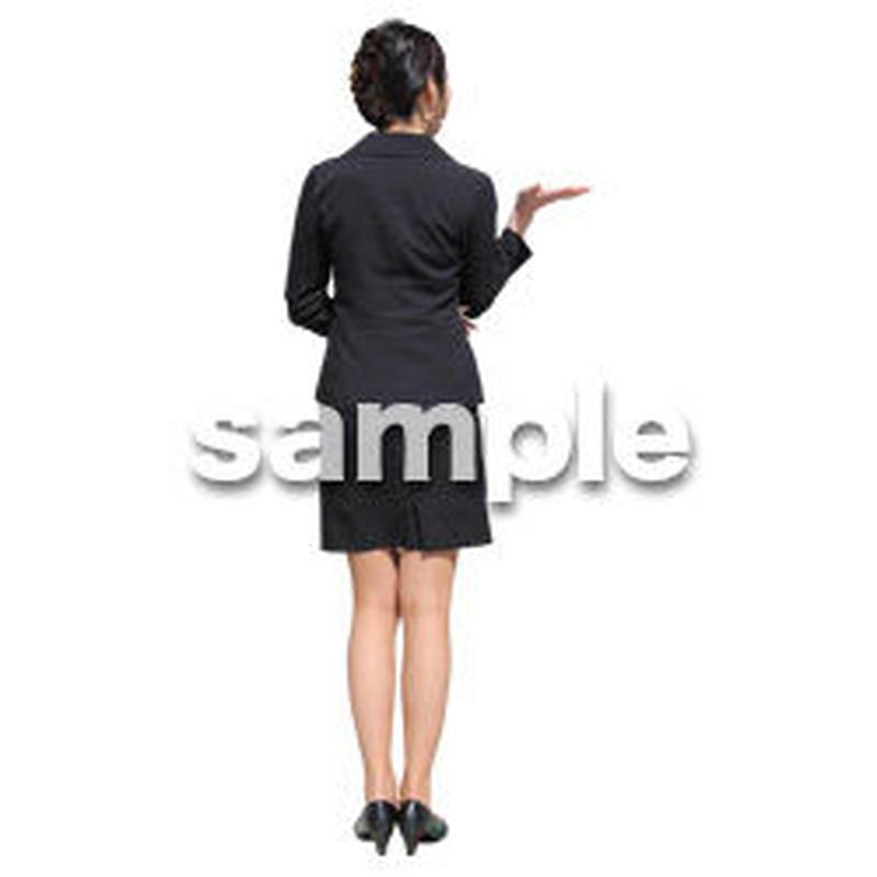 人物切抜き素材 ベーシックファッション編 P_290