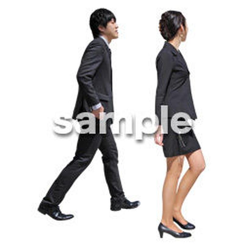 人物切抜き素材 ベーシックファッション編 P_063