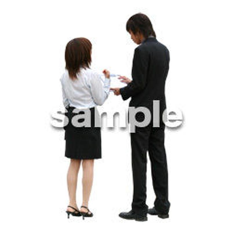 人物切抜き素材 オフィス・フォーマル編 G_040