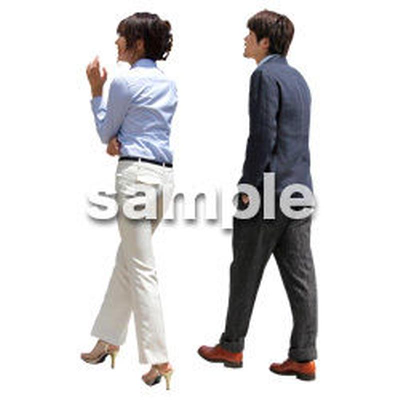 人物切抜き素材 ベーシックファッション編 P_049