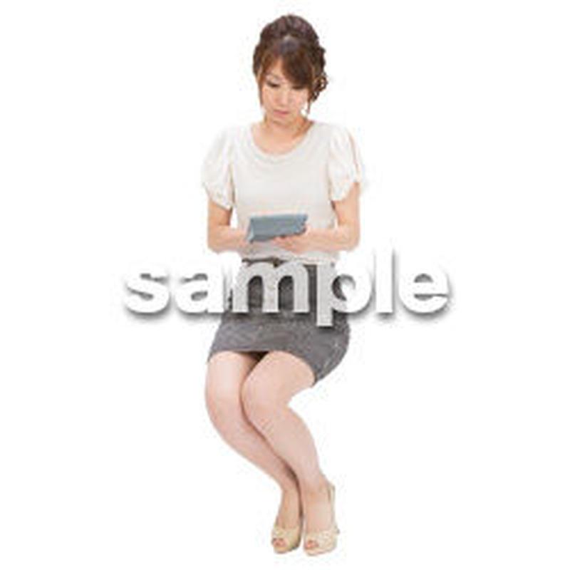 Cutout People ビジネス-日本人 EE_561