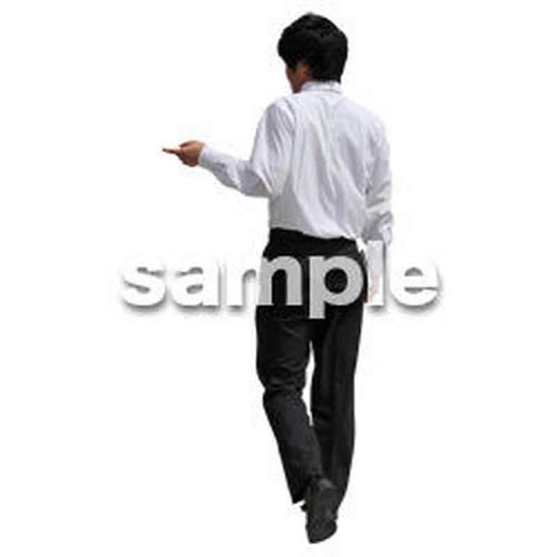 人物切抜き素材 ベーシックファッション編 P_340