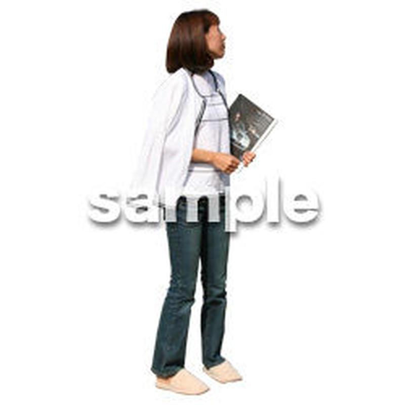 人物切抜き素材 リビング・散歩編 I_242