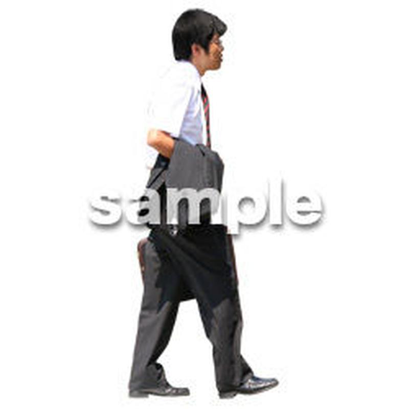 人物切抜き素材 夏服・フィットネス編 J_218