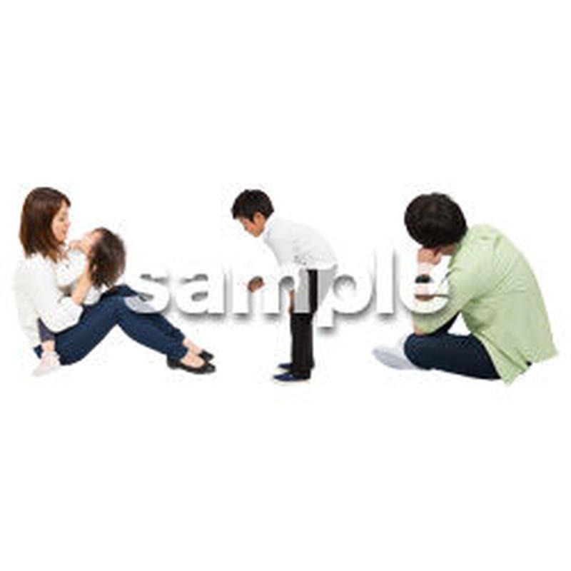 Cutout People 4人ファミリー GG_488