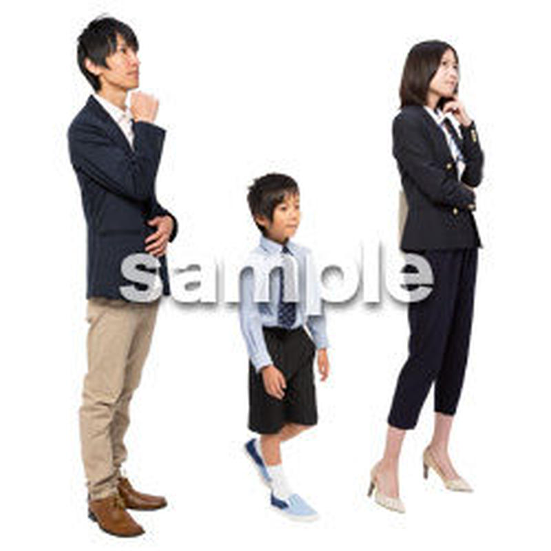 Cutout People ファミリー GG_037