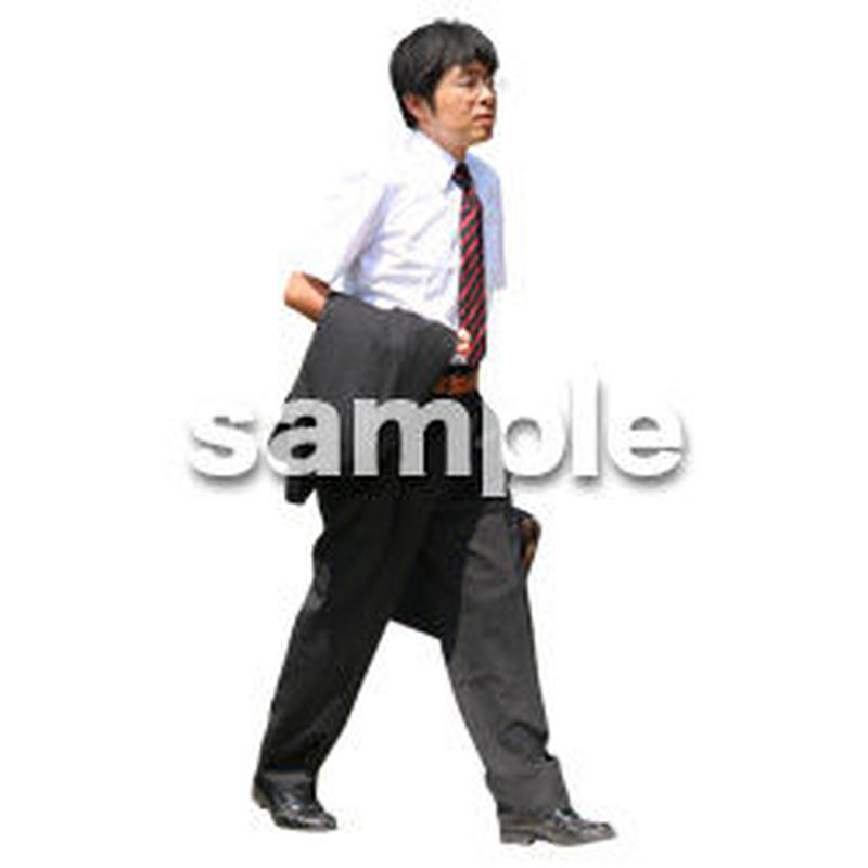 人物切抜き素材 夏服・フィットネス編 J_217