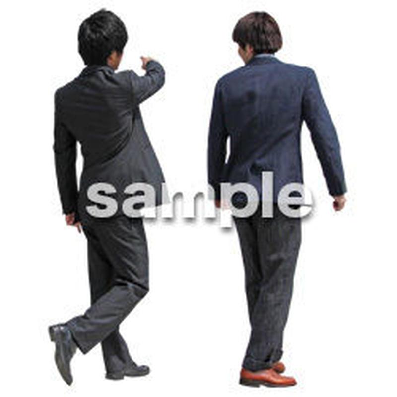 人物切抜き素材 ベーシックファッション編 P_074