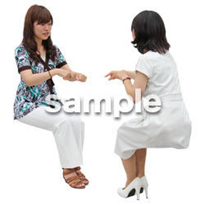 人物切抜き素材 アーバン・ショッピング編 M_360