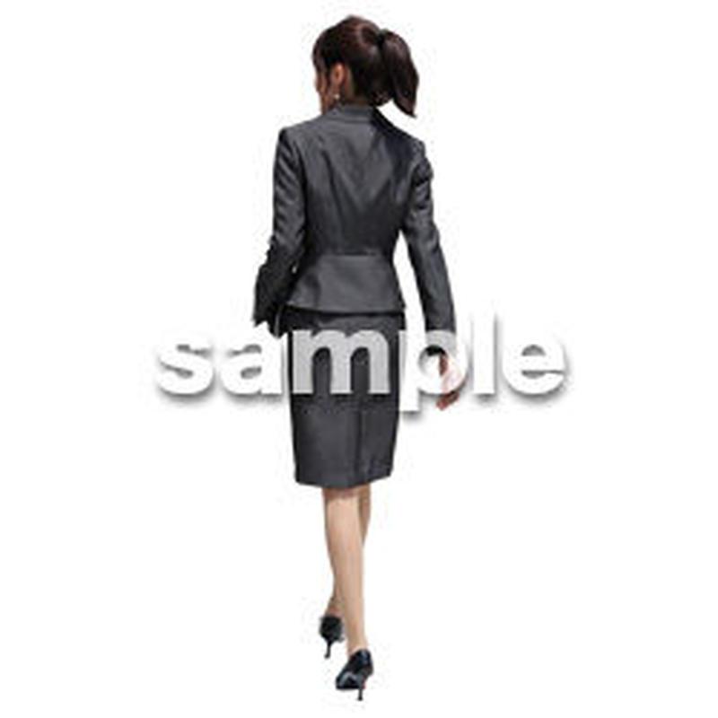 人物切抜き素材 ベーシックファッション編 P_265