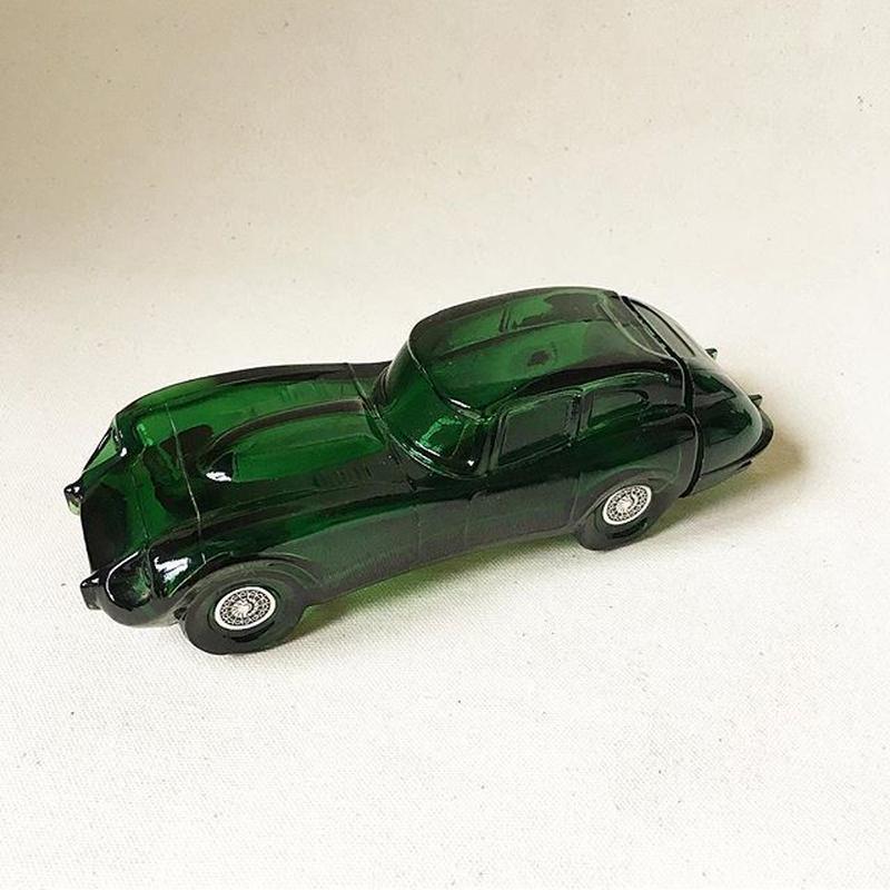 """Vintage """"AVON"""" Jaguar Car Decanter.Wild Country After Shave Bottle"""