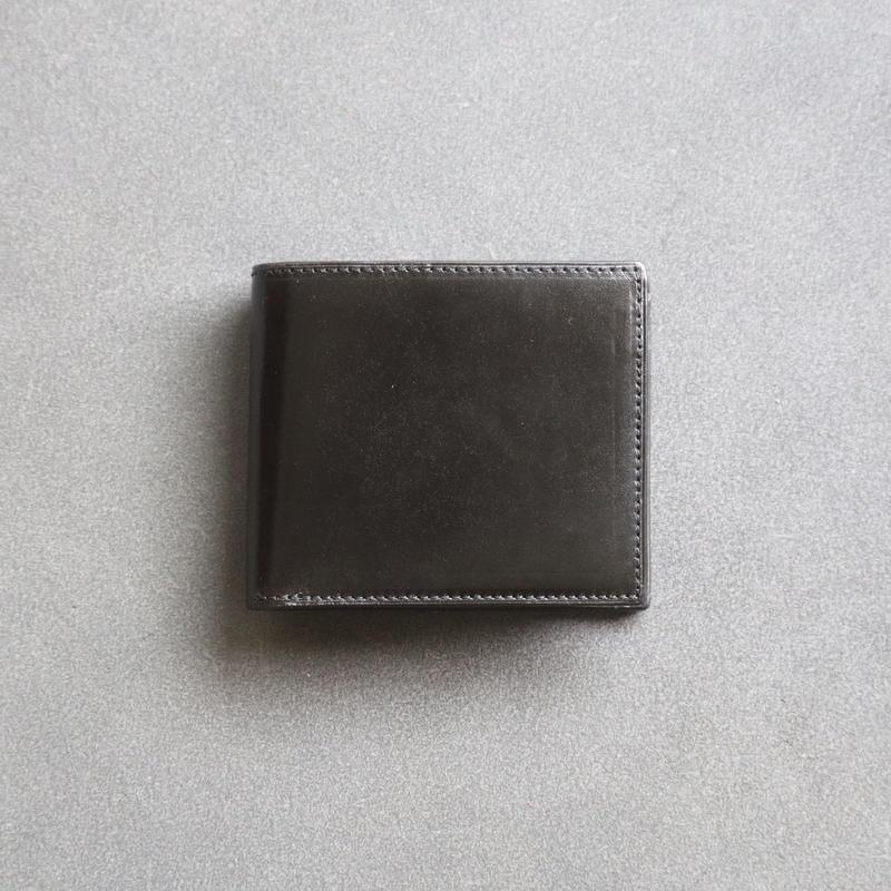 【Rugato】二つ折り財布 /ブラック