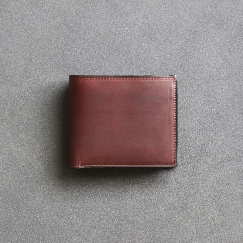 二つ折り財布 / チョコ【エルバマッ ト】