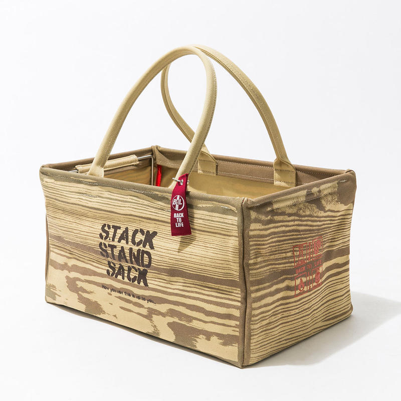 """""""STACK STAND SACK"""" 大バッグ"""
