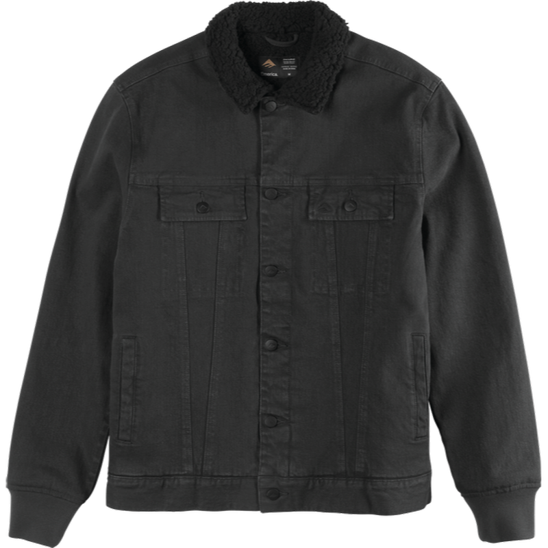 EMERICA  JHONNY JACKET BLACK