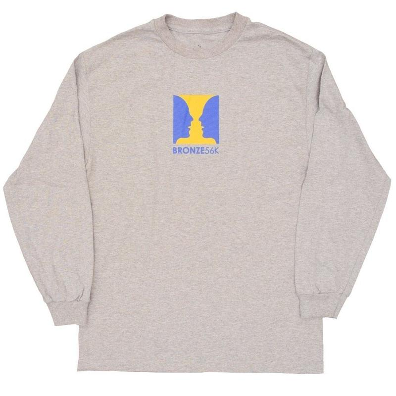 BRONZE56K THANKS FOR WATCHING  L/S TEE H,GREY
