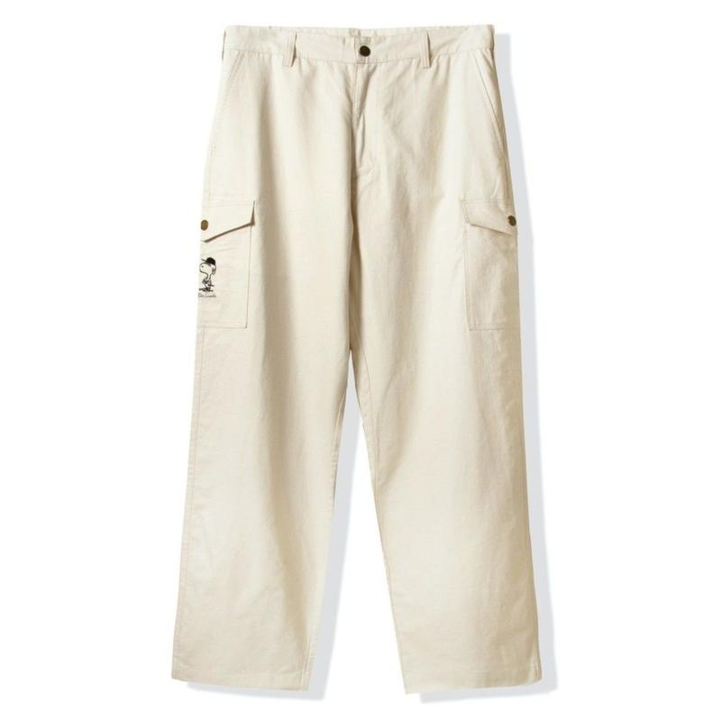 BUTTER GOODS GORE CARGO PANTS-NATURAL