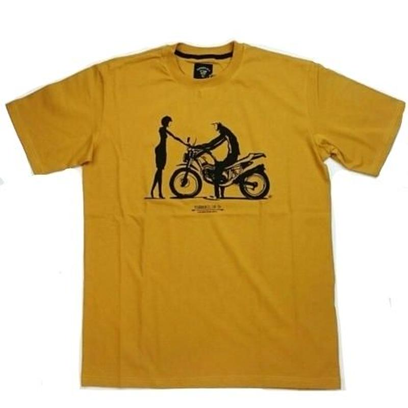 TURBO COLOR WILL BARRAS TEE   YELLOW