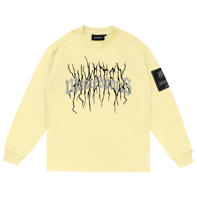 WASTED PARIS THUNDER BRIDGE L/S TEE-Y,SUNRISE