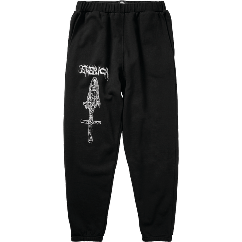 EMERICA X FUNERAL FRENCH SWEATPANT  BLACK