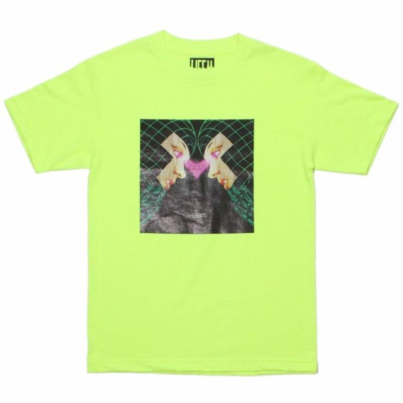 H33M   REFLECT S/S TEE         SAFETY YELLOW
