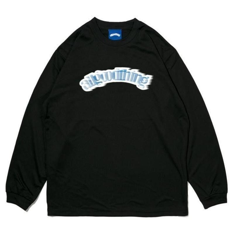 ALLGOODTHINGZ DASHBOARD L/S TEE-BLACK