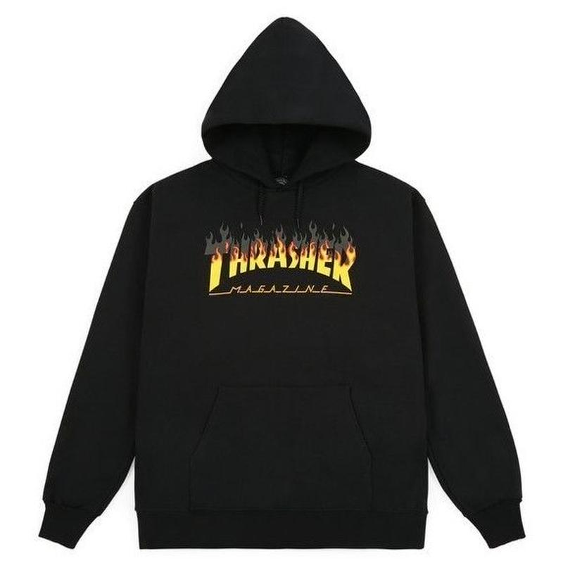 THRASHER BBQ HOOD-BLACK
