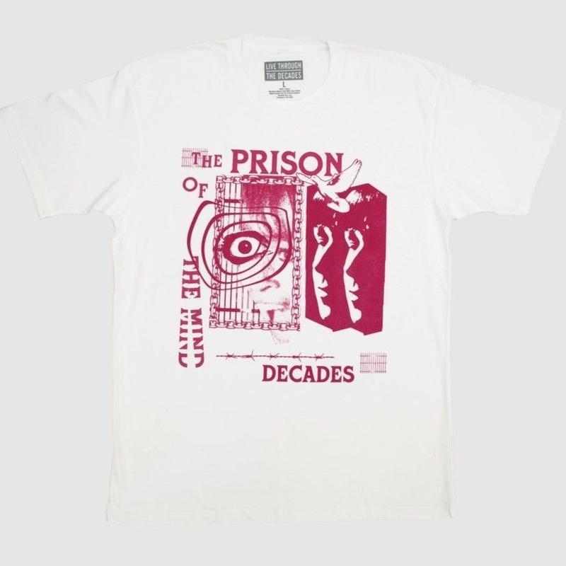THE DECADES PRISON TEE WHITE