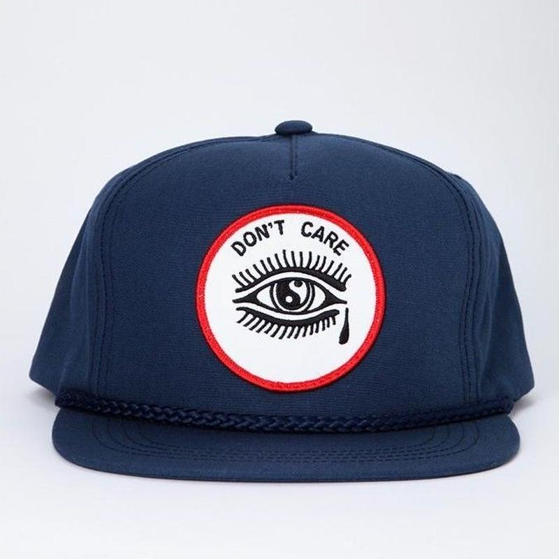 CRAWLING DEATH DON'T CARE HAT  NAVY