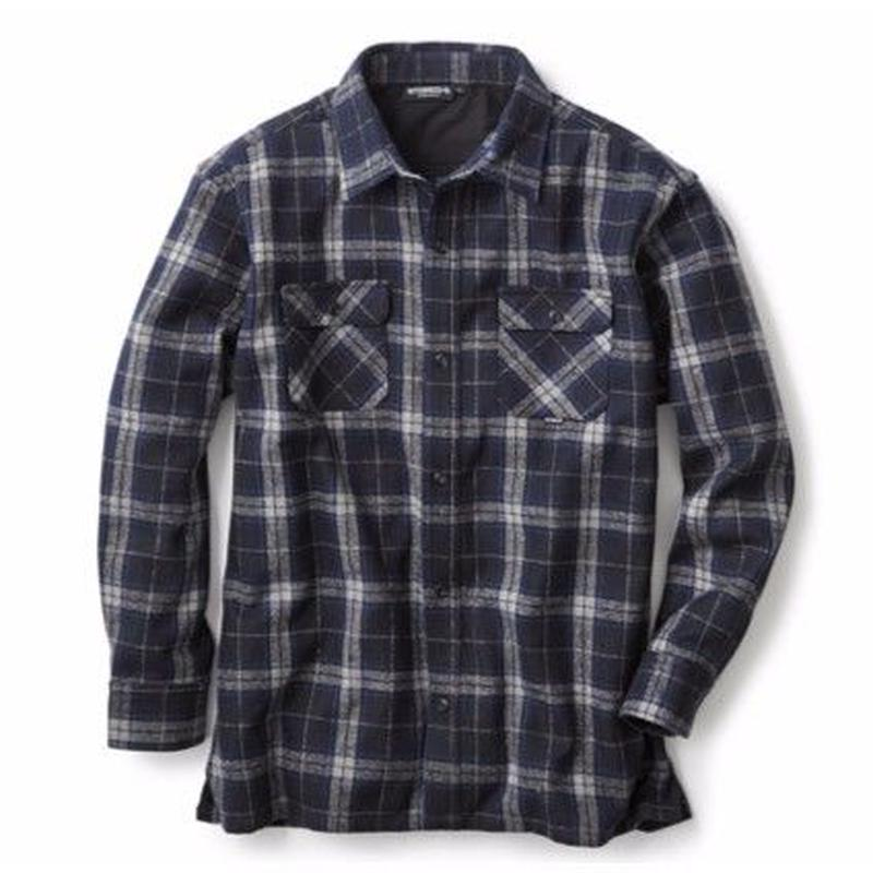INTERBREED WIDE RANGE FLANNEL SHIRT       BLACK WATCH