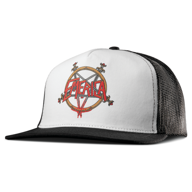 EMERICA   SPOT TRUCKER   WHITE/BLACK